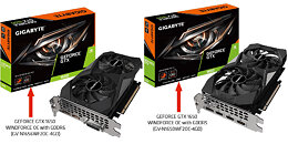 GIGABYTE GeForce GTX 1650