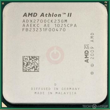 Amd Athlon Ii X2 270 Specs Techpowerup Cpu Database
