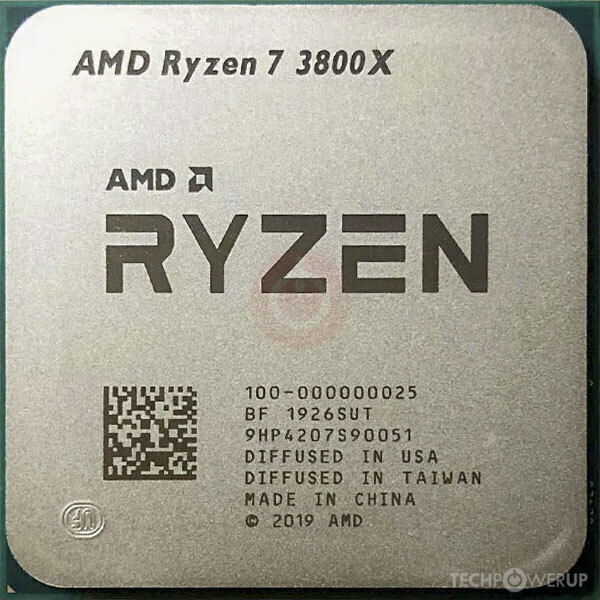 Amd Ryzen 7 3800x Specs Techpowerup Cpu Database