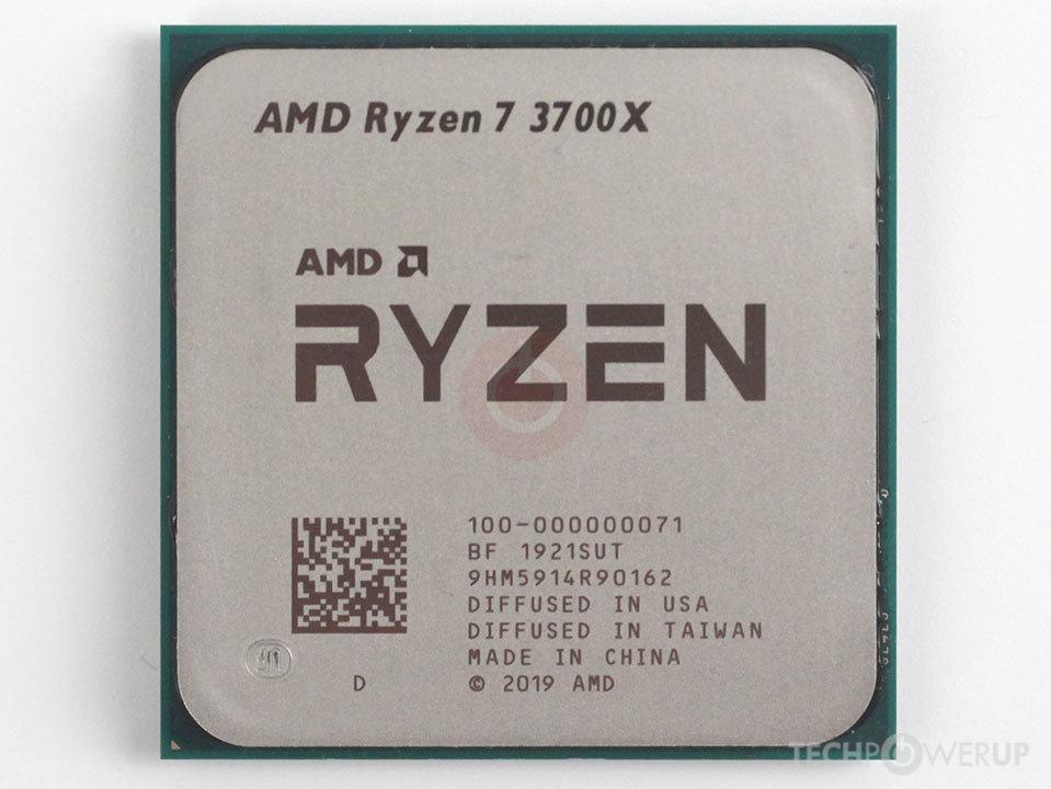 Amd Ryzen 7 3700x Specs Techpowerup Cpu Database