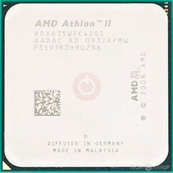 Amd Athlon Ii X4 635 Specs Techpowerup Cpu Database