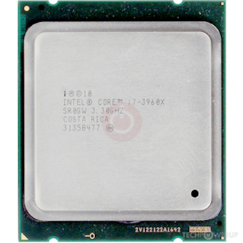 Intel Core i7-3960X SR0KF CPU 6-Cores 3.30 Ghz Processor