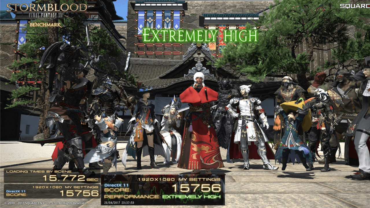 Final Fantasy XIV Stormblood Benchmark