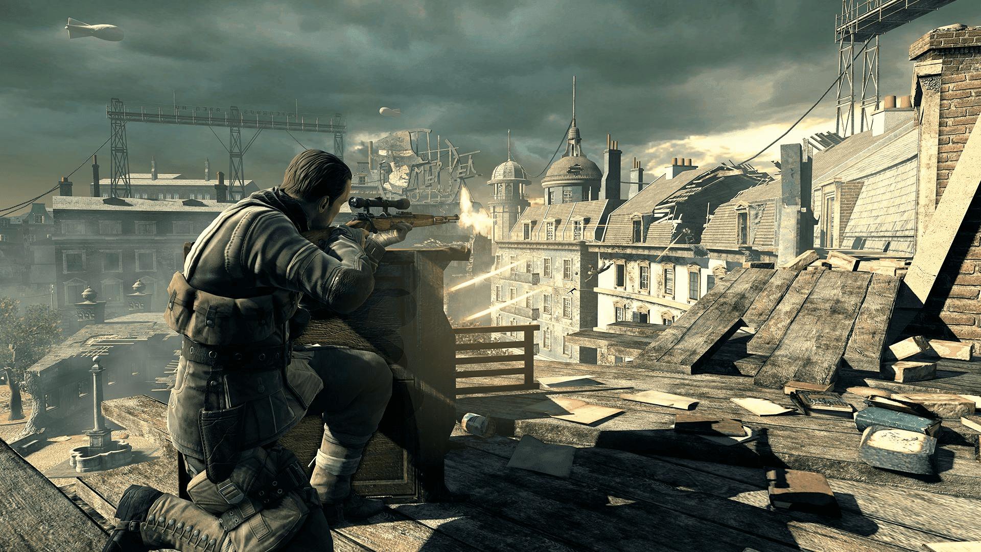 Sniper elite v2 st. Pierre buy and download on gamersgate.