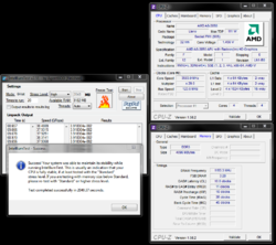 CPUz + IBT-Overclocked 3.58Ghz, 1112Mhz, DDR3-2306.PNG