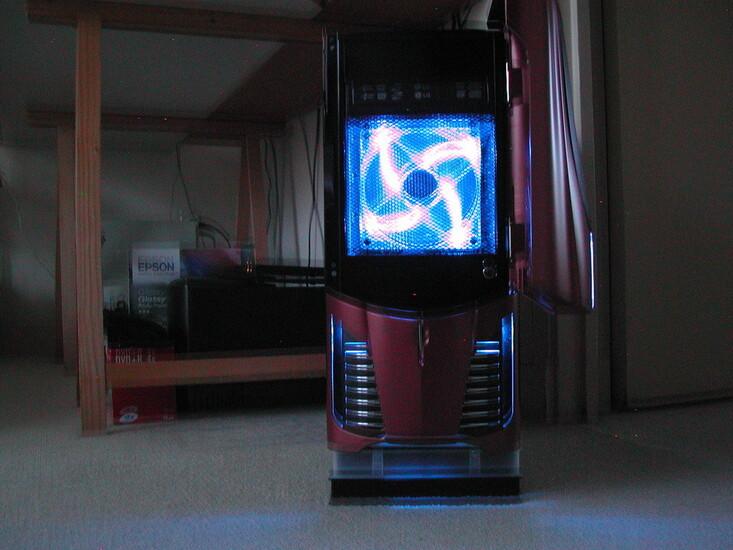 Apollo Red Ii Techpowerup Case Modding Gallery