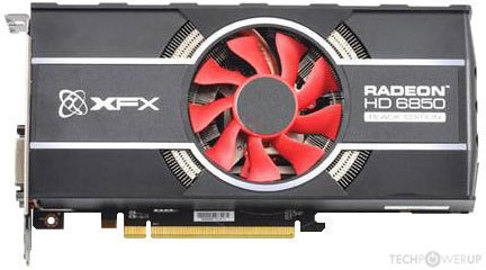 Xfx Hd 6850 Black Edition Specs Techpowerup Gpu Database
