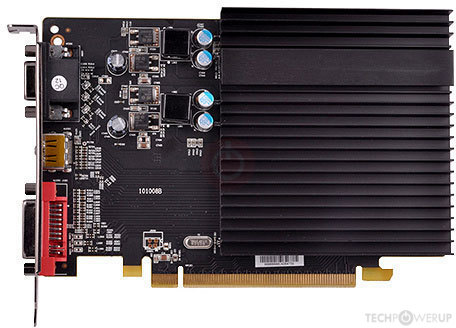 XFX ONE HD 5450 Deluxe Edition 2 GB Specs   TechPowerUp GPU Database