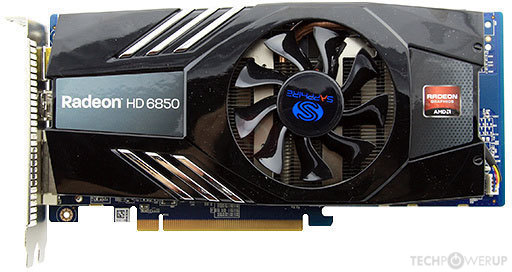 Sapphire Hd 6850 1440sp Edition Specs Techpowerup Gpu Database