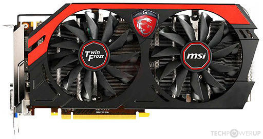 Msi Gtx 760 Gaming Oc Specs Techpowerup Gpu Database