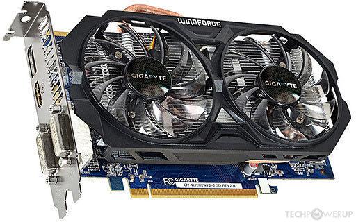 GIGABYTE R7 260X WindForce 2X OC Rev  2 0 Specs | TechPowerUp GPU