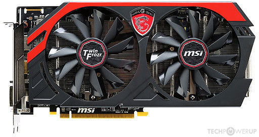 MSI R9 270X Gaming OC Specs | TechPowerUp GPU Database