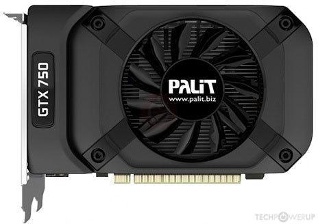 Palit GTX 750 StormX 2 GB Specs | TechPowerUp GPU Database