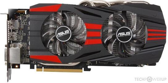 ASUS R9 270X DirectCU II TOP 4 GB Specs | TechPowerUp GPU