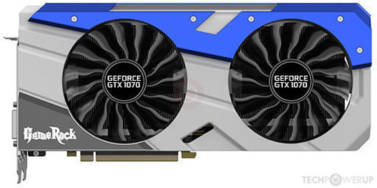 Palit GTX 1070 GameRock Specs | TechPowerUp GPU Database