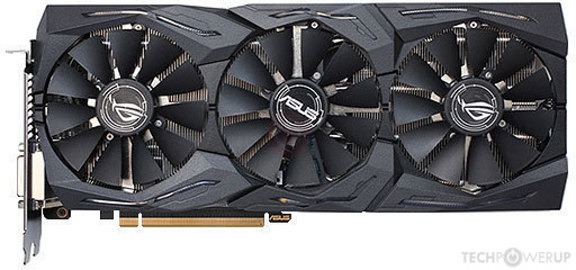 ASUS ROG STRIX RX 580 GAMING OC Specs | TechPowerUp GPU Database