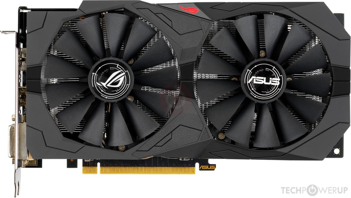 Asus Radeon RX 570 4GB Strix Graphics Card GPU AMD