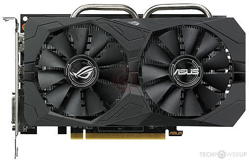 ASUS ROG STRIX RX 560 GAMING Specs   TechPowerUp GPU Database