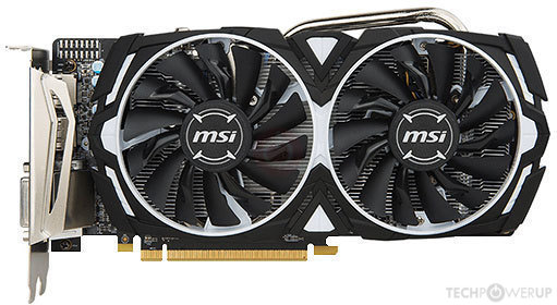 MSI RX 570 ARMOR Specs | TechPowerUp GPU Database