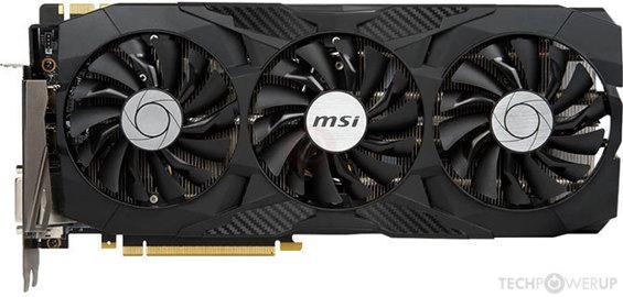 MSI GTX 1080 Ti DUKE OC Specs | TechPowerUp GPU Database