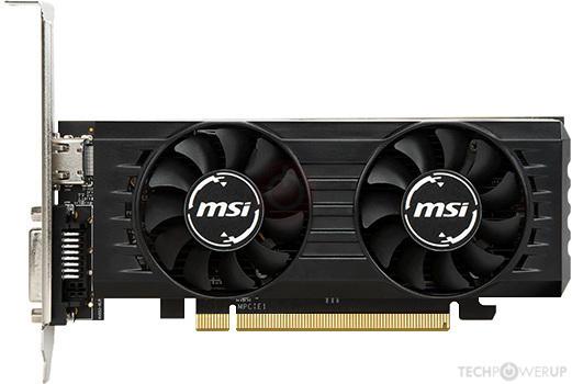 MSI RX 560 Low Profile 2 GB Specs | TechPowerUp GPU Database