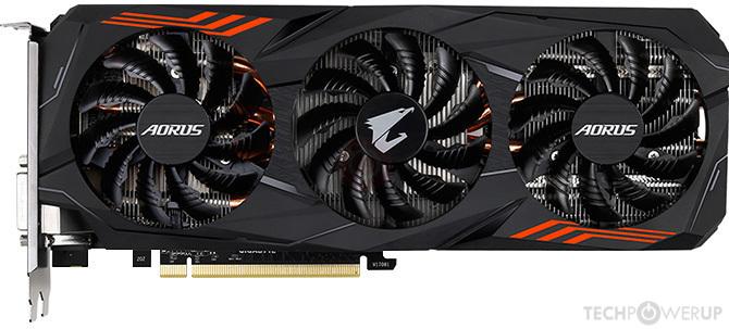 GIGABYTE AORUS GTX 1070 Ti Specs   TechPowerUp GPU Database