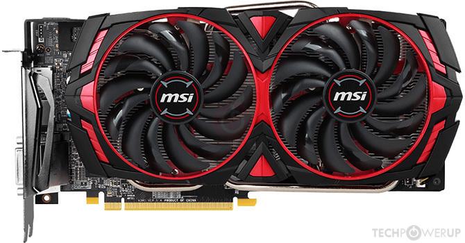 MSI Armor Radeon RX 570 4GB AMD Graphics Card