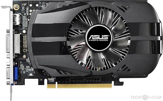 ASUS GeForce GTX 750 Ti  2GB DDR5 128-Bit Graphic Card GTX750TI-FML-OC-2GD5
