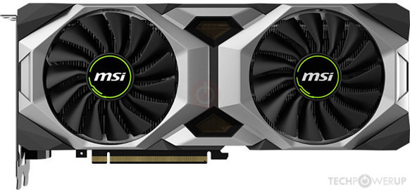 MSI RTX 2080 VENTUS Specs | TechPowerUp GPU Database