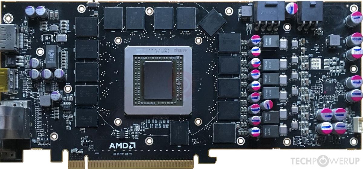 AMD Radeon R9 390X Engineering Sample Specs   TechPowerUp