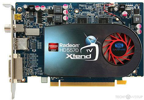 Sapphire Hd 5570 Xtend Tv Specs Techpowerup Gpu Database