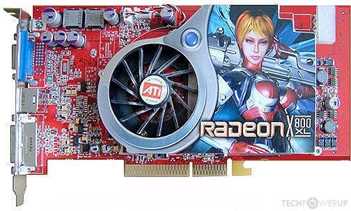 ATI RADEON X800XL 256 MB AGP Graphics Card