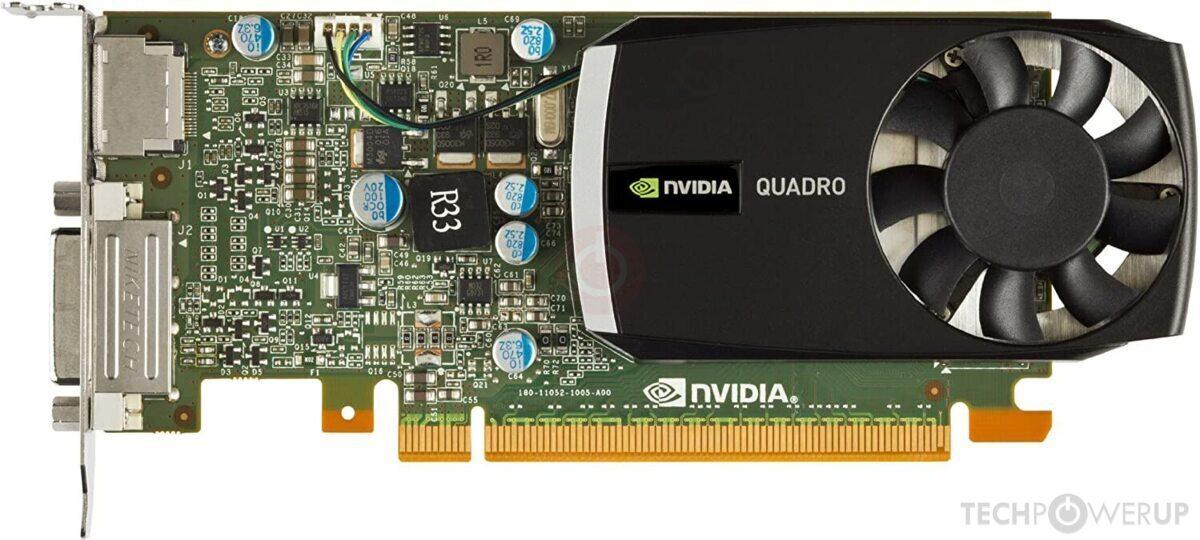 Nvidia Quadro 400 Specs Techpowerup Gpu Database