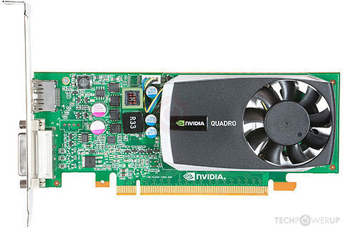 NVIDIA Quadro 600 Specs | TechPowerUp GPU Database
