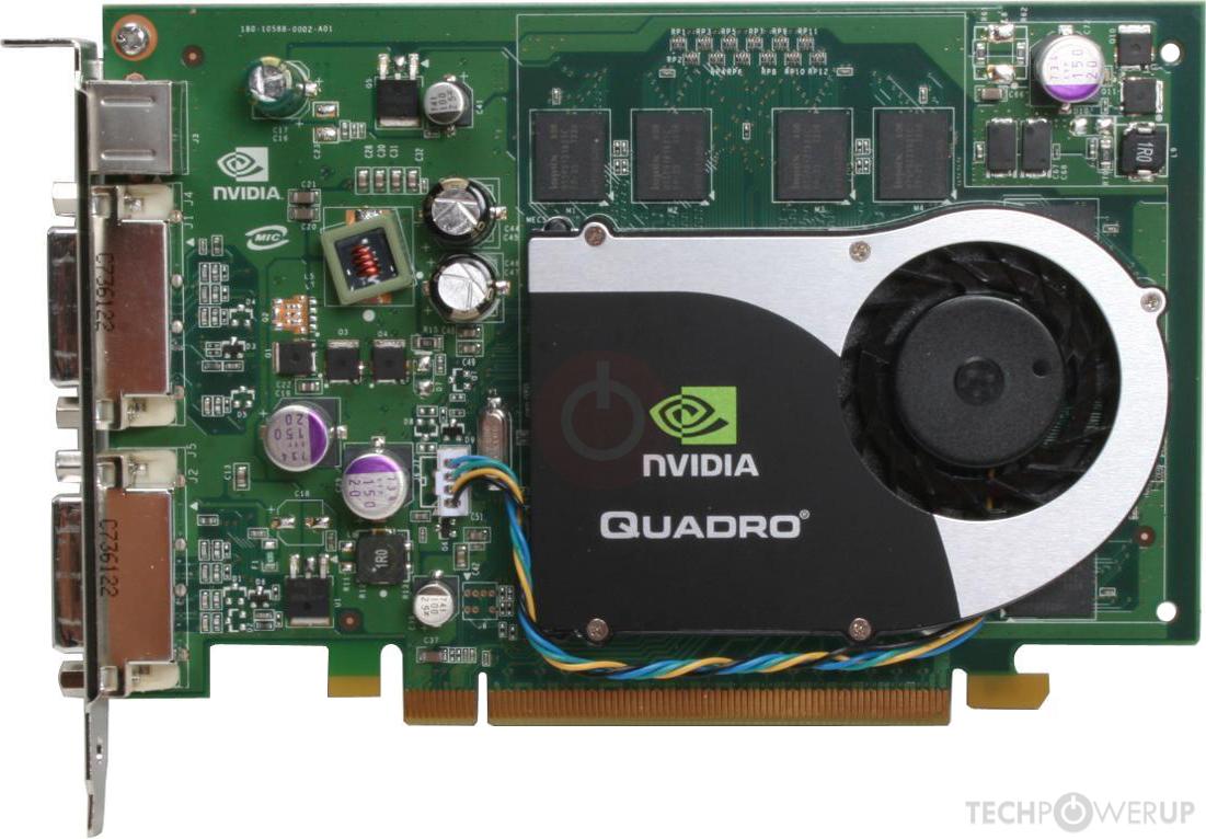 NVIDIA Quadro FX 1700 Specs | TechPowerUp GPU Database