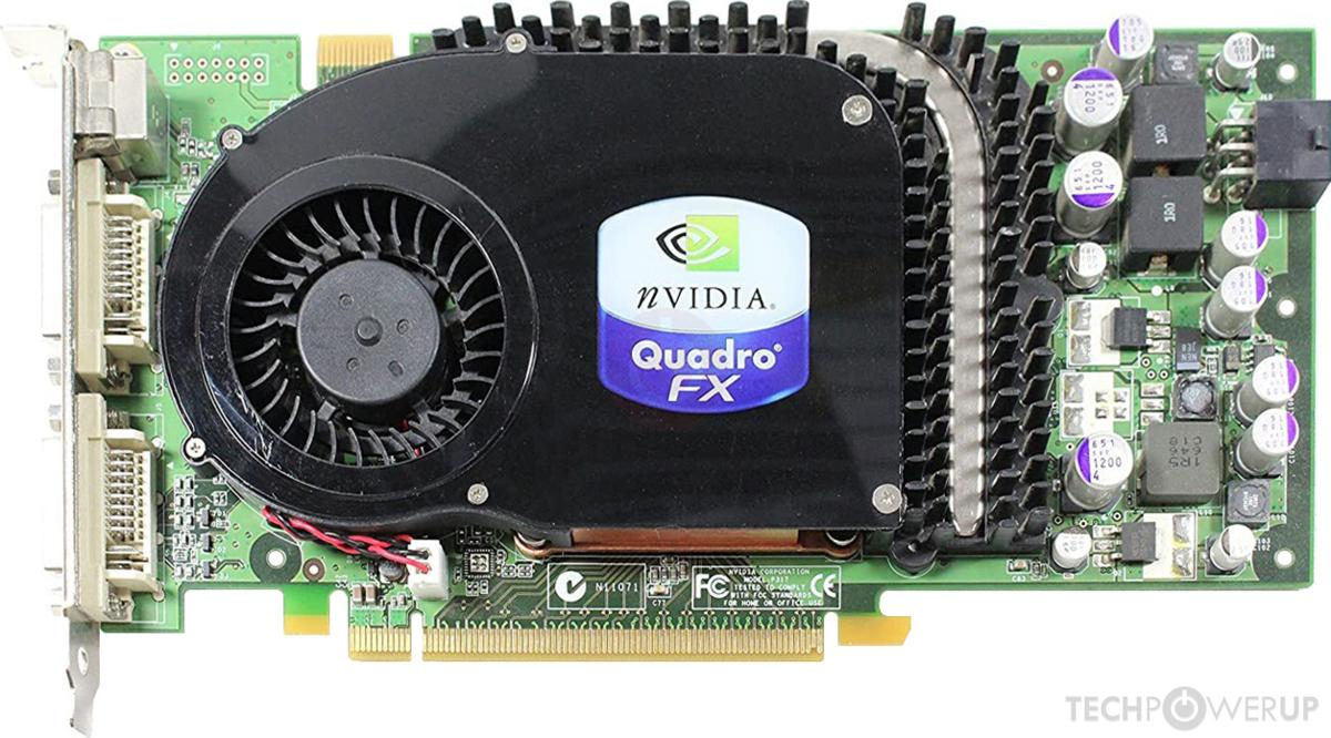 NVIDIA Quadro FX 3450 Specs | TechPowerUp GPU Database