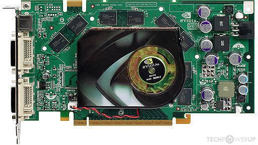 NVIDIA GeForce 7950 GT Specs