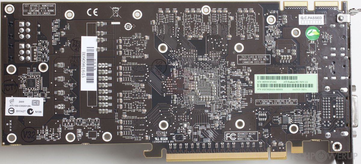 ATI Radeon HD 5850 Specs   TechPowerUp GPU Database