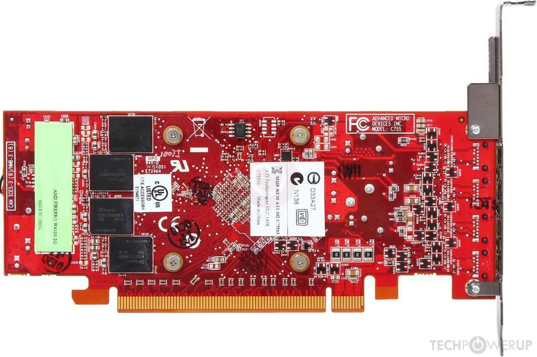 Amd Firepro W4100 Specs Techpowerup Gpu Database