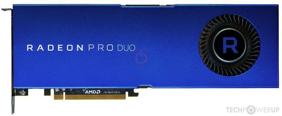 AMD Radeon Pro Duo Polaris Specs | TechPowerUp GPU Database