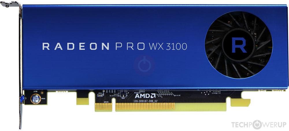 AMD Radeon Pro WX 3100 Specs | TechPowerUp GPU Database