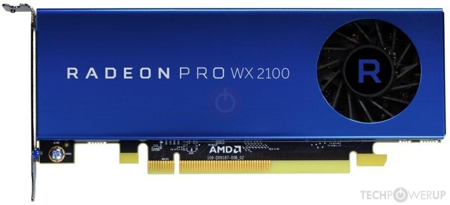 AMD Radeon Pro WX 2100 Specs | TechPowerUp GPU Database