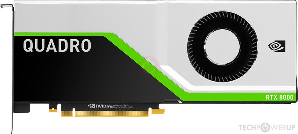 NVIDIA Quadro RTX 8000 Specs | TechPowerUp GPU Database