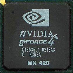NVIDIA GEFORCE4 MX 420 DESCARGAR CONTROLADOR