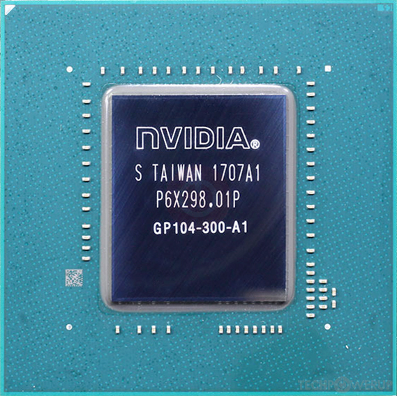 Nvidia Gp104 Gpu Specs
