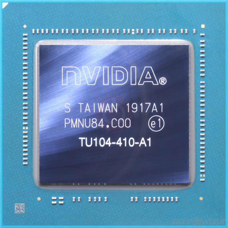 NVIDIA TU104 GPU Specs | TechPowerUp GPU Database
