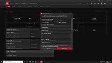 New AMD bug reporting screen