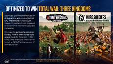 Optimized for Total War Three Kingdoms