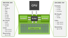 NVIDIA Encoding and Decoding Standards