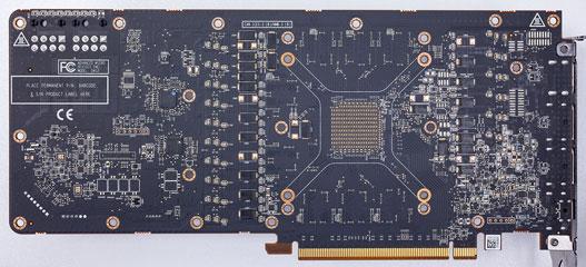 Graphics Card Teardown PCB Back